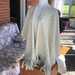 Torrid shawl sweater long cream plus size 1X 2X
